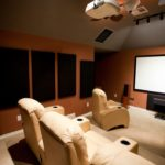 Evde Sinema salonu ses yalıtımı