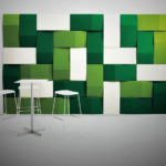 3d akustik duvar paneli