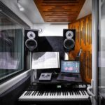Akustik stüdyo odası kabini