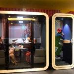 Akustik toplantı odası kabiin